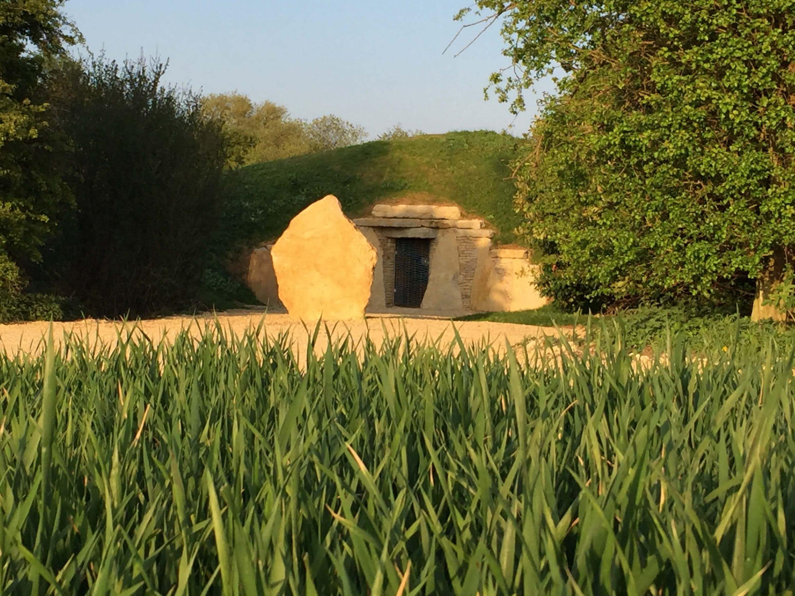 A Sacred Stones Long Barrow