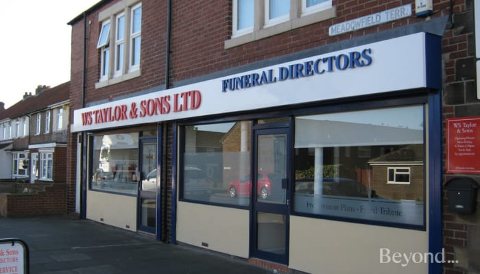 WS Taylor & Sons, NEWCASTLE UPON TYNE Funeral Directors | Beyond
