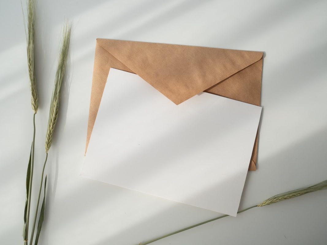 Writing a letter to remember someone who has died