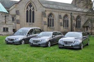 J F Knight Funeral Directors vehicle fleet
