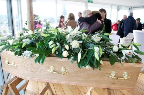 A funeral wake arranged by Dandelion Farewells
