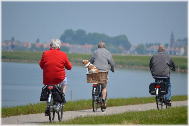 get active when you retire