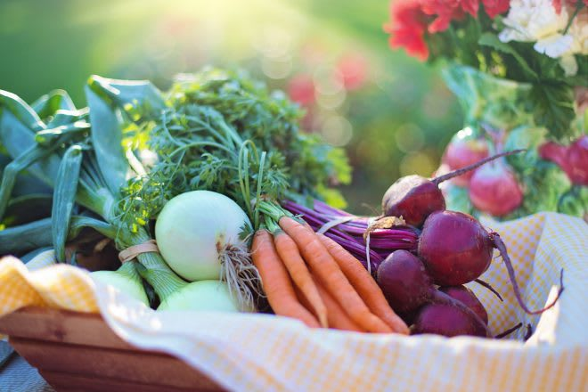 grow your own vegetables when you retire