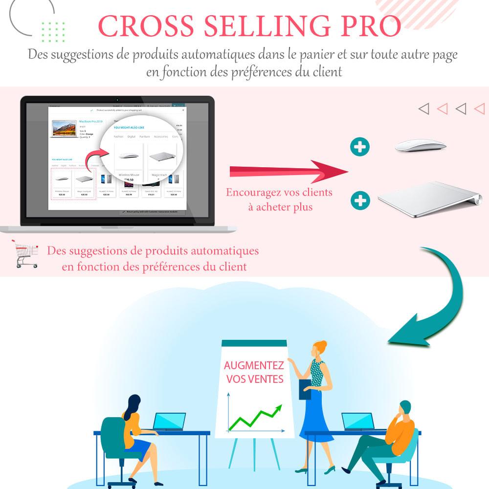 Module Prestashop Cross selling pro