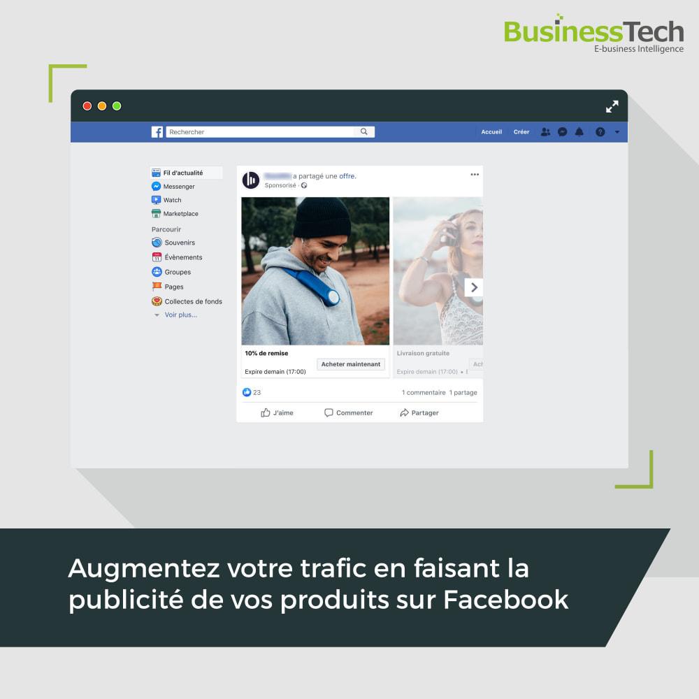 Module Prestashop Facebook