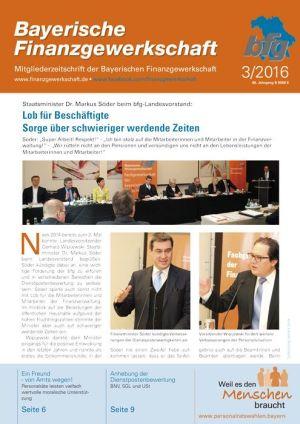 Staatsminister Dr. Markus Söder beim bfg-Landesvorstand