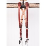 MoneyMaker Skinny Camera Strap Bridle Leather