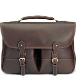 Clipper Leather Satchel