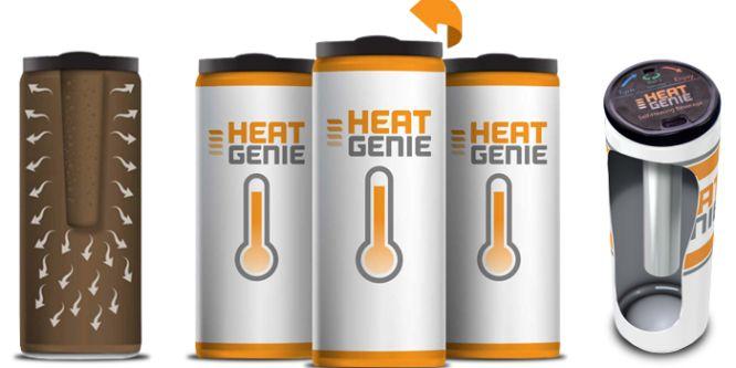 HeatGenie: Kaffee zum Selbsterhitzen für unterwegs