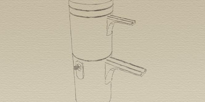 Die Seihkanne bzw. Karlsbader Kanne