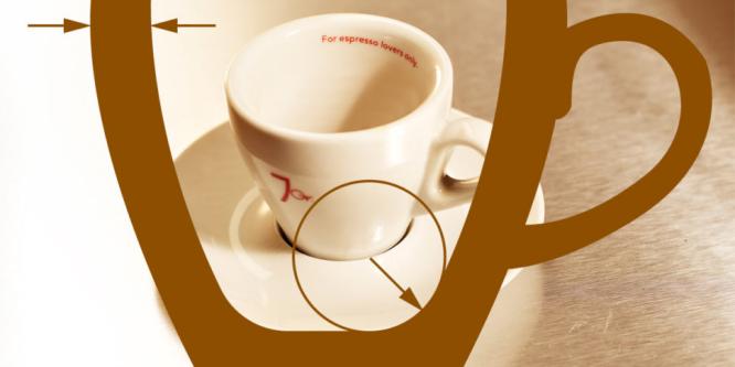 Aus welcher Tasse schmeckt der Espresso am besten?