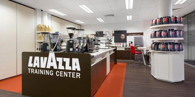 Neues Training Center Lavazza in Neapel