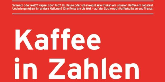Kaffee in Zahlen // No. 2 // 2013