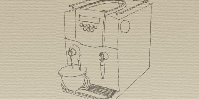 Der Kaffeevollautomat