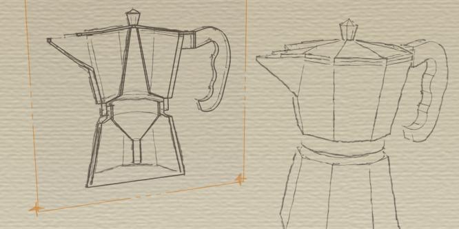Die Bialetti, Caffetiera oder Espressokanne