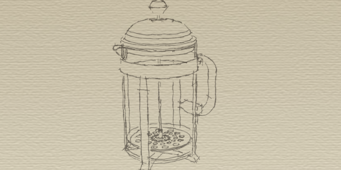 Die French Press 'Cafetière'