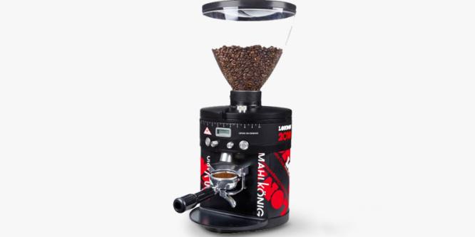 Kaffeepulver mit einer Direktmahlmühle