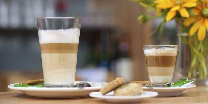 Der perfekte Latte Macchiato