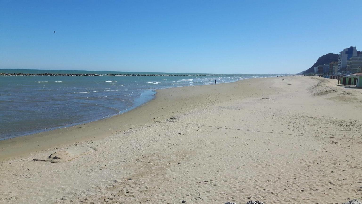 Spiaggia vicino Pesaro