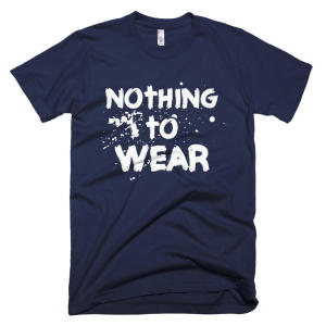 nothing to wear male t-shirt