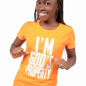 I'm God's Property Female T-Shirt