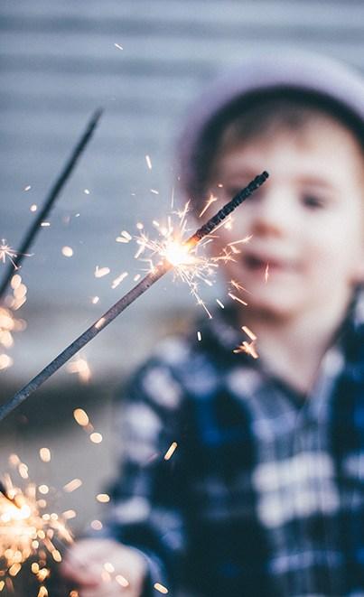 Les enfants et le feu