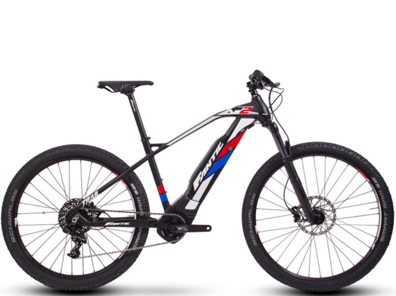 Foto de la bicicleta eléctrica deportiva