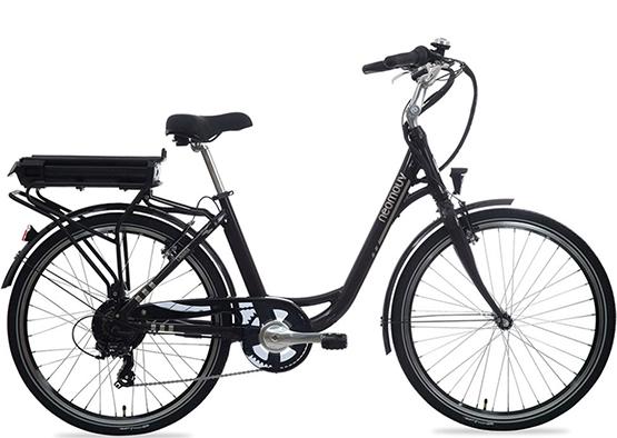 Foto de la bicicleta eléctrica urbana