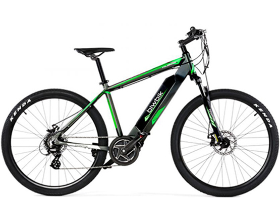 Foto de la bicicleta eléctrica marca E-bike
