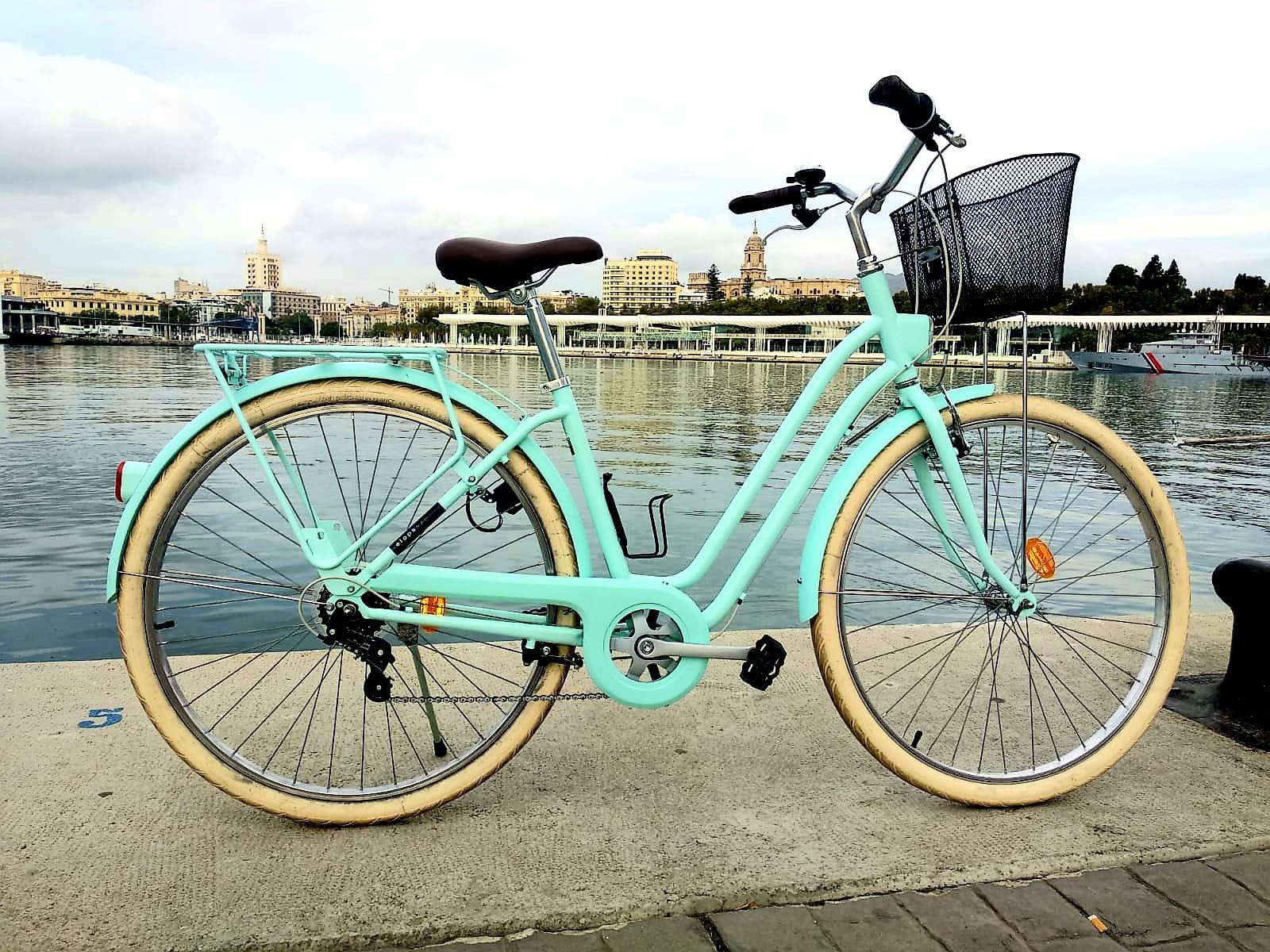 Foto de la bicicleta eléctrica segunda mano