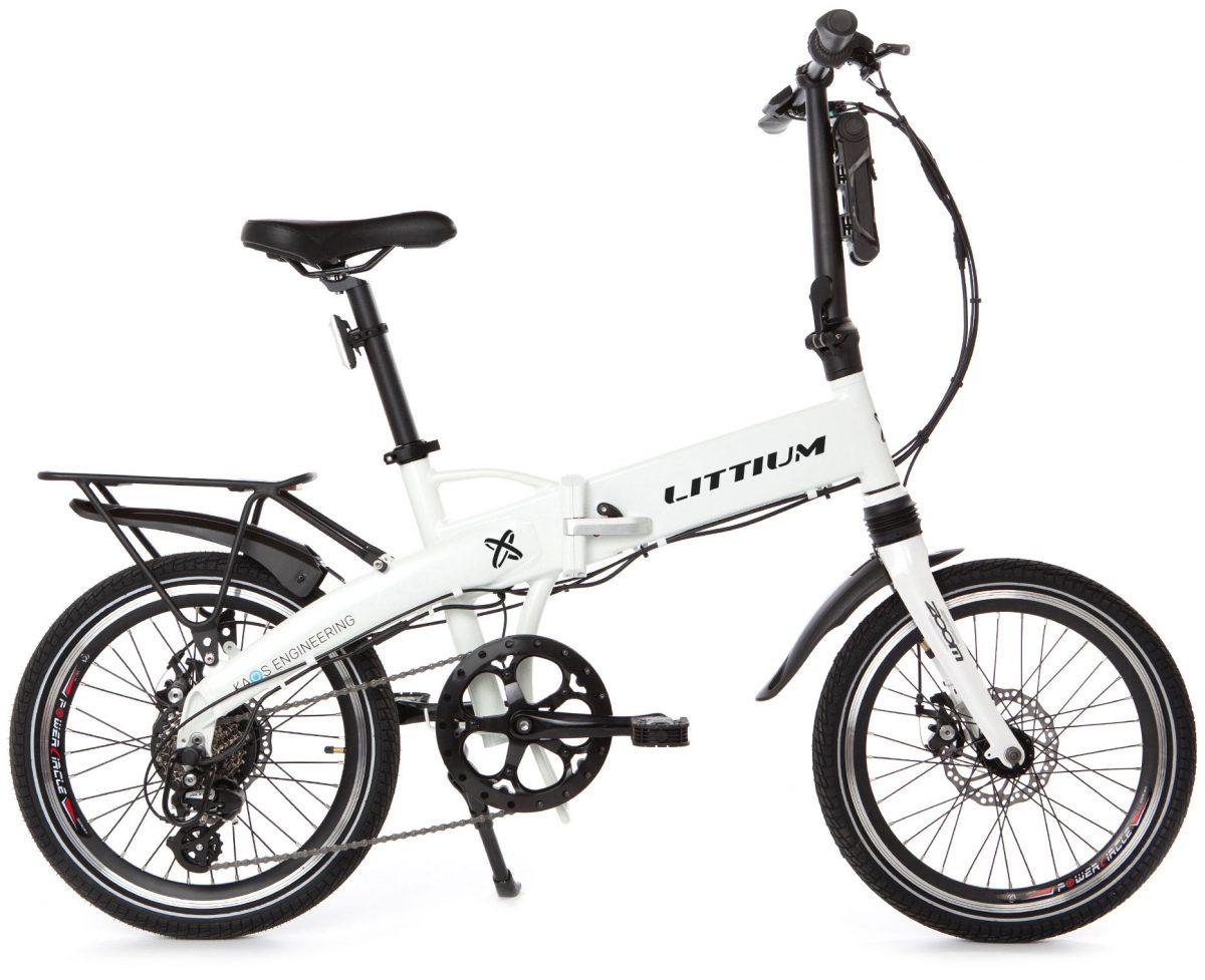 Foto de la bicicleta eléctrica marca Littium