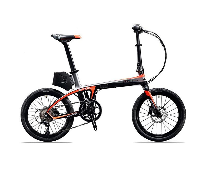 Foto de la bicicleta eléctrica plegable