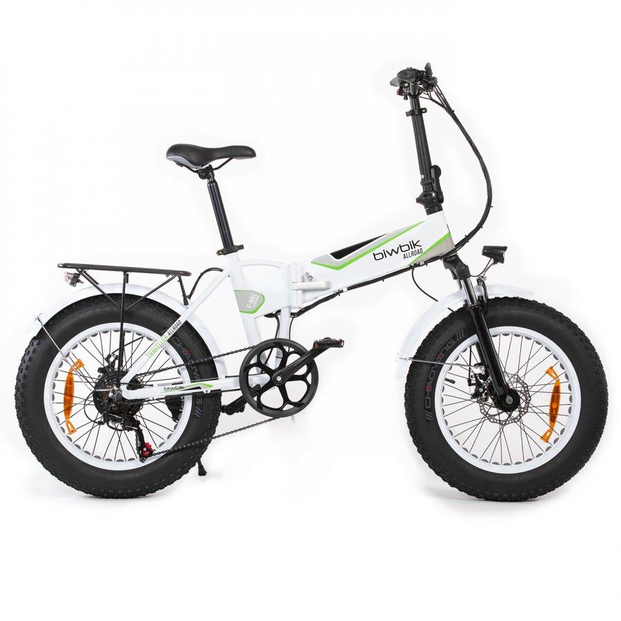 Foto de la bicicleta eléctrica marca biwbik