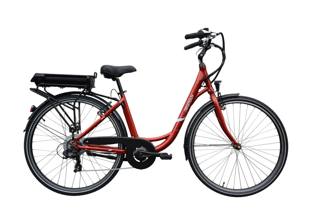 Foto de la bicicleta eléctrica marca Neomouv