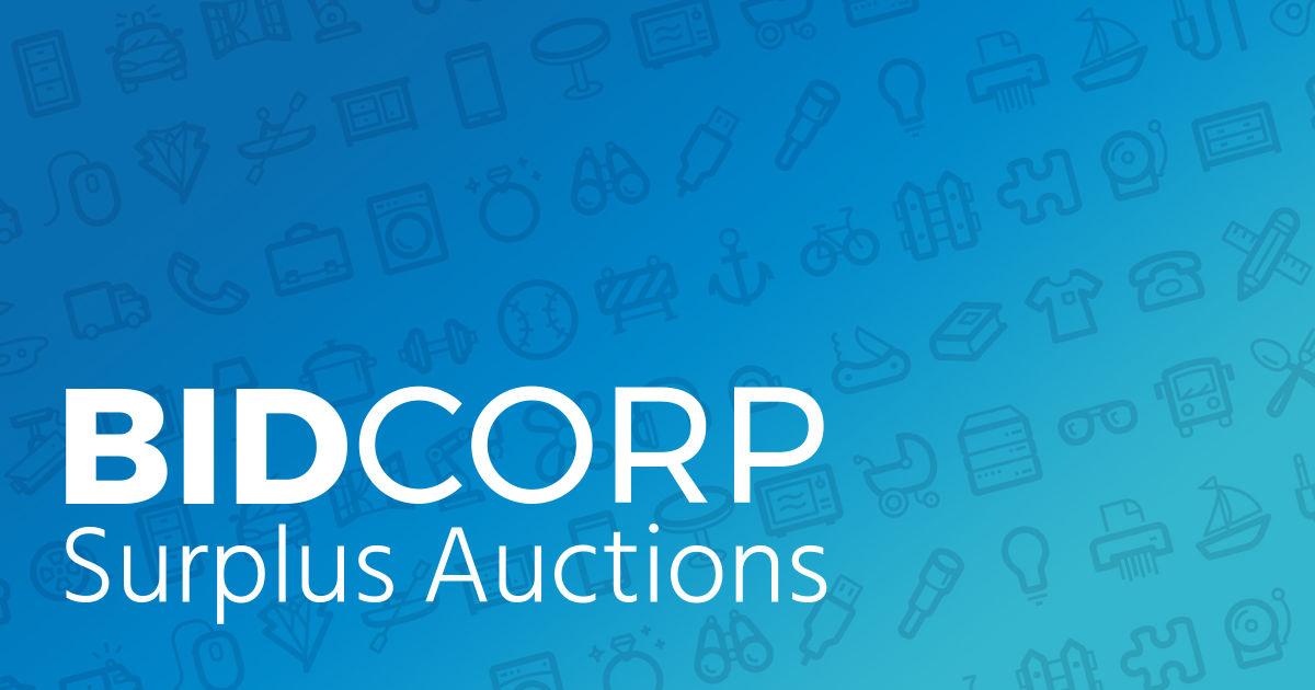 Surplus Auctions - BidCorp Auctions