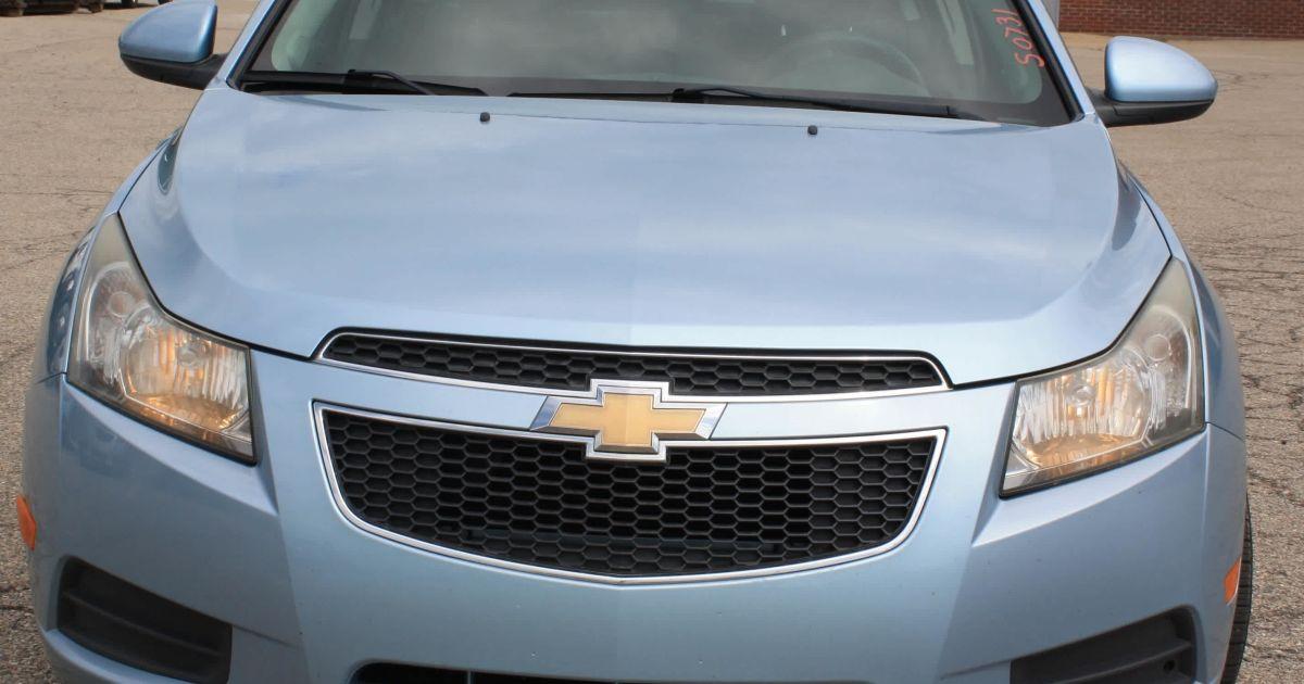 2011 Chevy Cruze 4DR LT Sedan, 106,973 Miles #S0731