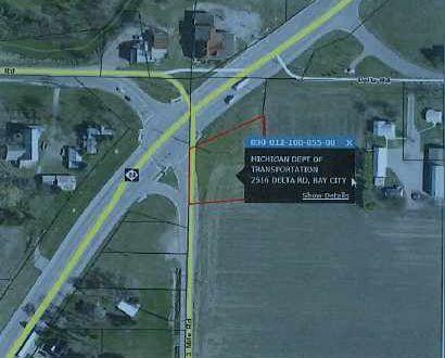 Tract 1340 - Parcel 129 Pt  A - Frankenlust Township, Bay
