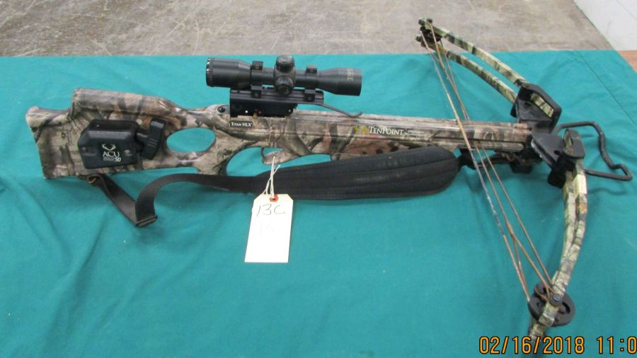 Ten Point Titan Hlx Crossbow Serial D82886 Wscope 13c