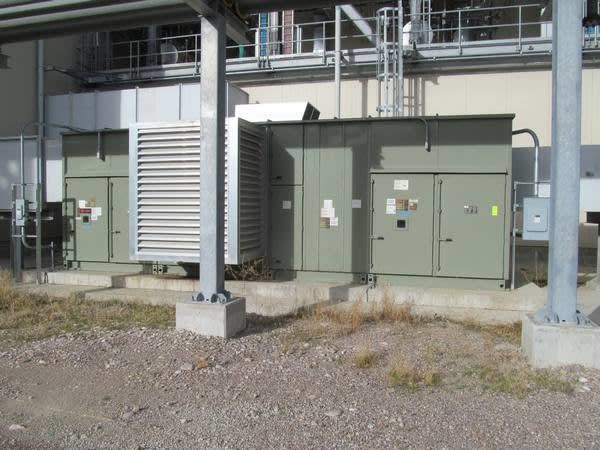 Trane Model T-Series Climate Changer Air Handling Unit on Auction