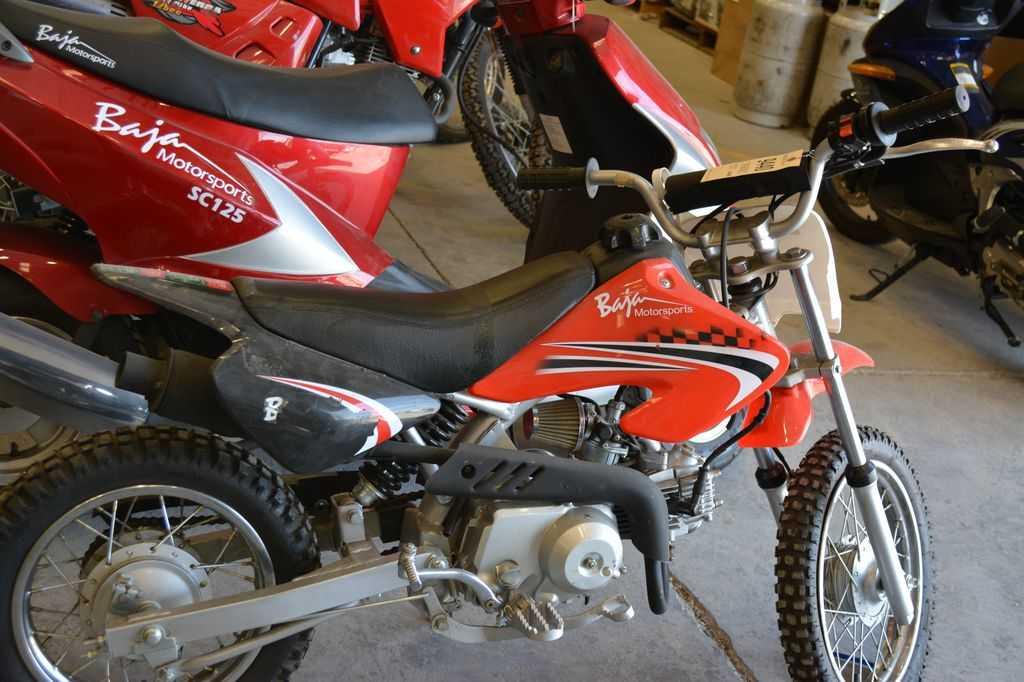 Baja motorsports impremedia baja motorsports 70cc dirt bike red 4 stroke engine 72cc 503 hp 4 speed sciox Gallery