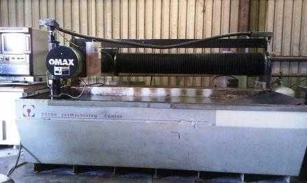 Omax 55100 Water Jet Machine on Auction Now at Apex Auctions