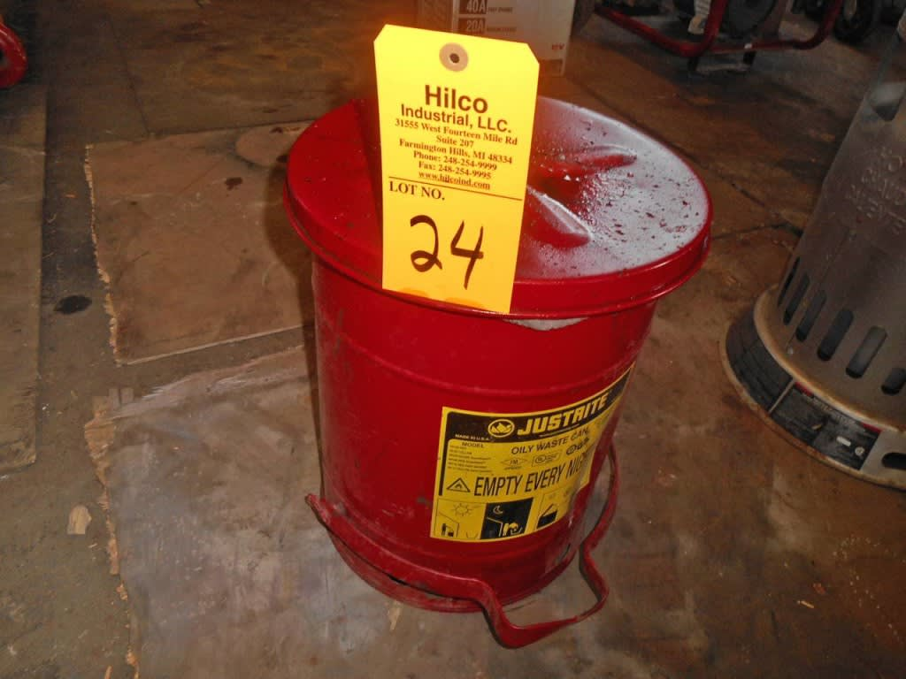 5 Gallon Waste Oil Storage Container on Auction Now at Hilco Industrial