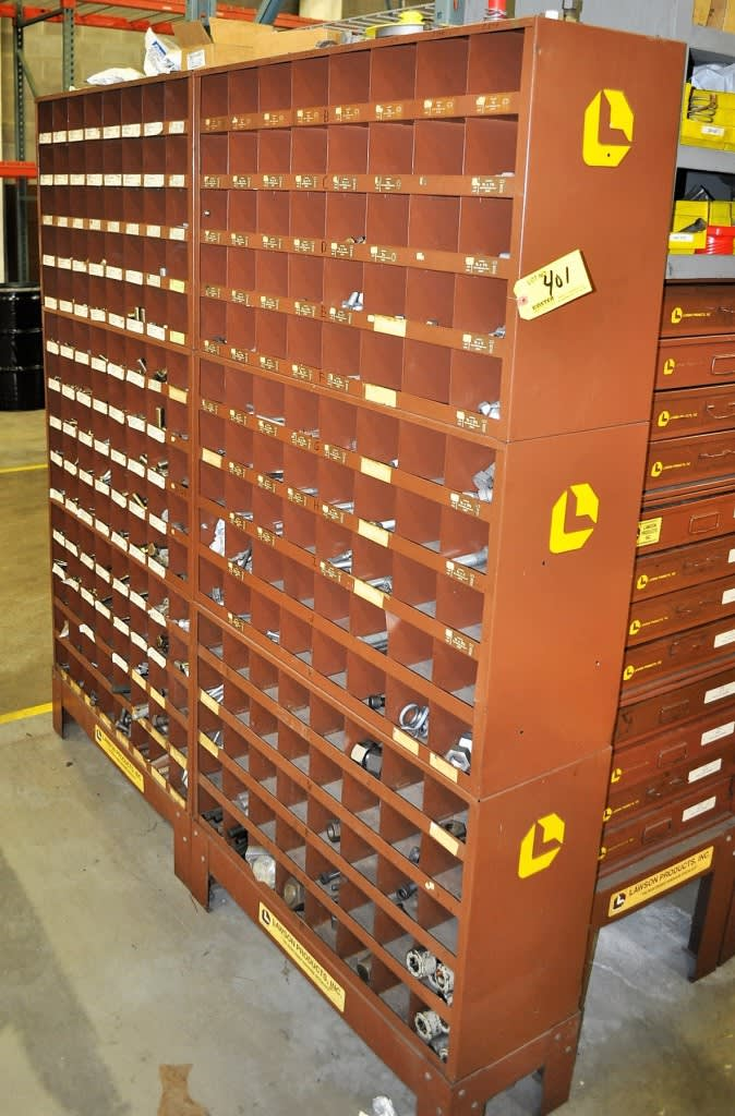 LAWSON NUT BOLT HARDWARE STORAGE CABINETS on Sale Now at GE Events