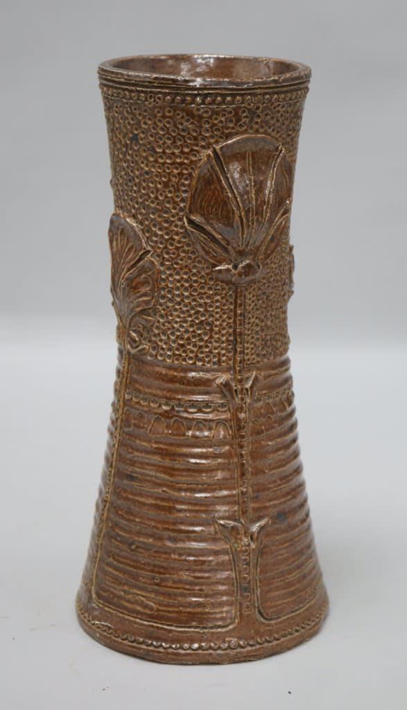 A Mark V Marshall Royal Doulton Of Lambeth Pottery Vase On Auction Now