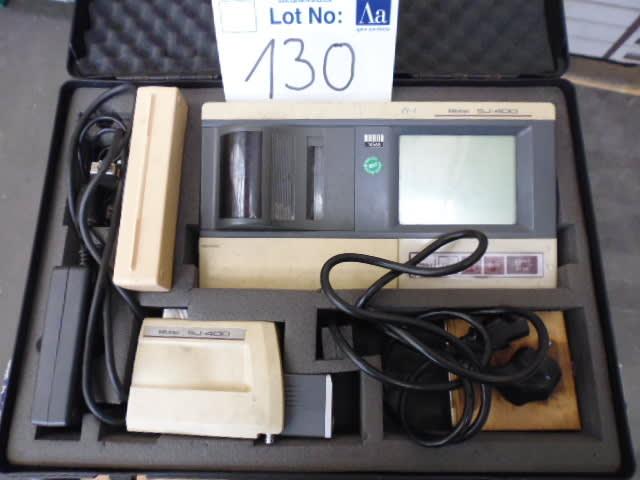 Measuring Equipment: Mitutoyo Surftest SJ 400  Portable