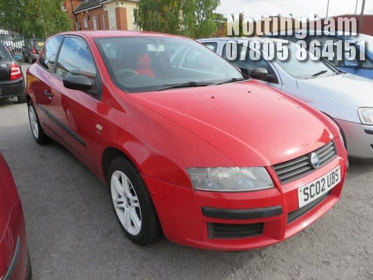 Location Nottingham 2002 Fiat Stilo 16v Active 3 Door Hatchback