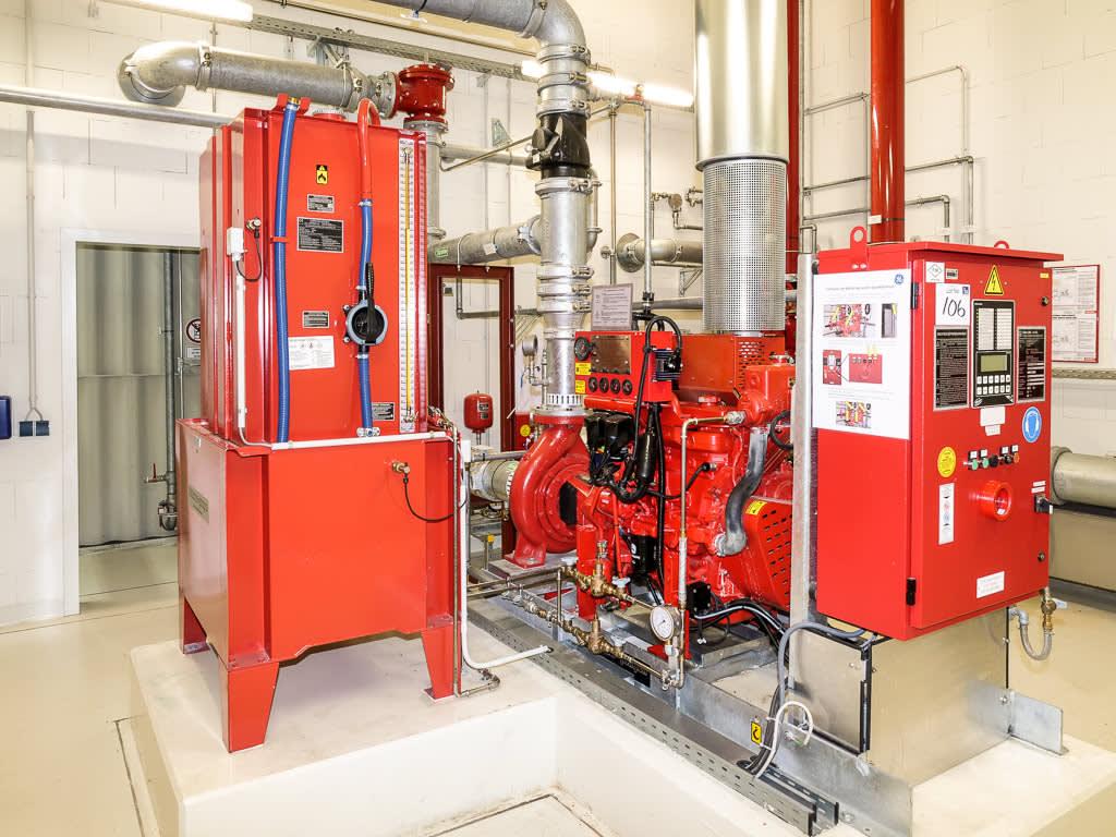 Holzhauer (2010) Diesel Fire Sprinkler Pump System