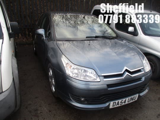 Location Sheffield 2005 Citroen C4 Vtr Hdi Coupe On Auction Now