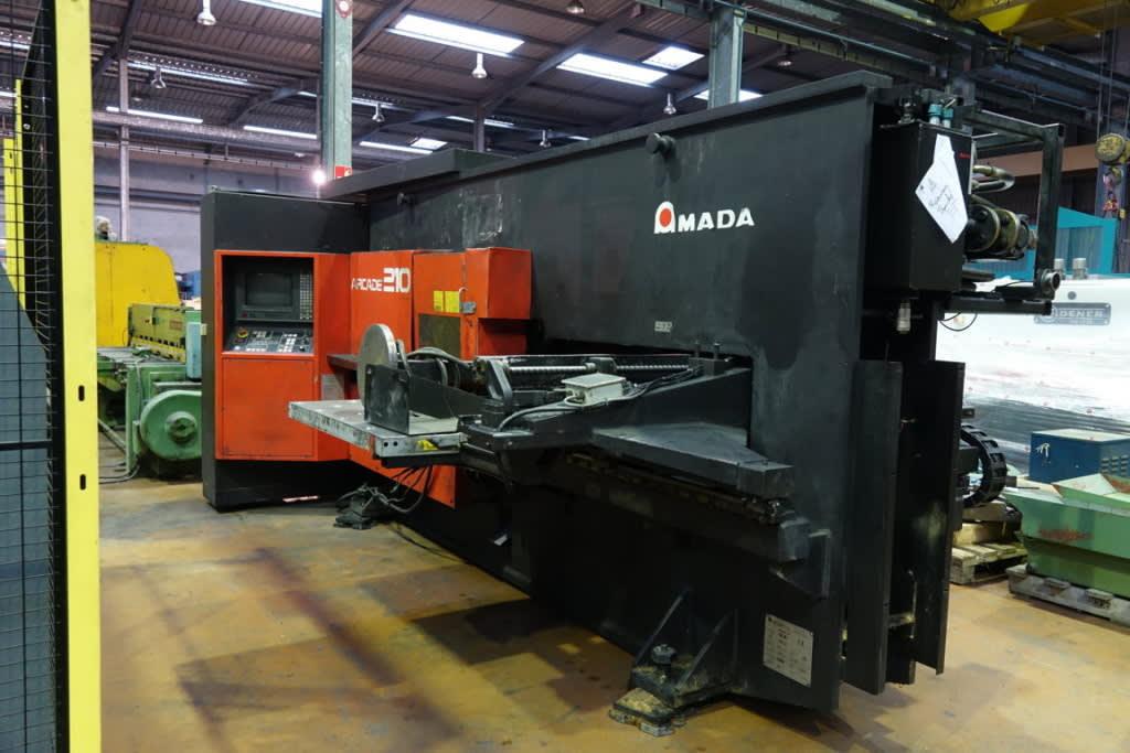 AMADA ARCADE 210 CNC Punching Machine on Auction Now at Apex