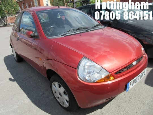 Location Nottingham  Ford Ka Zetec  Door Hatchback On Auction Now At John Pye Auctions